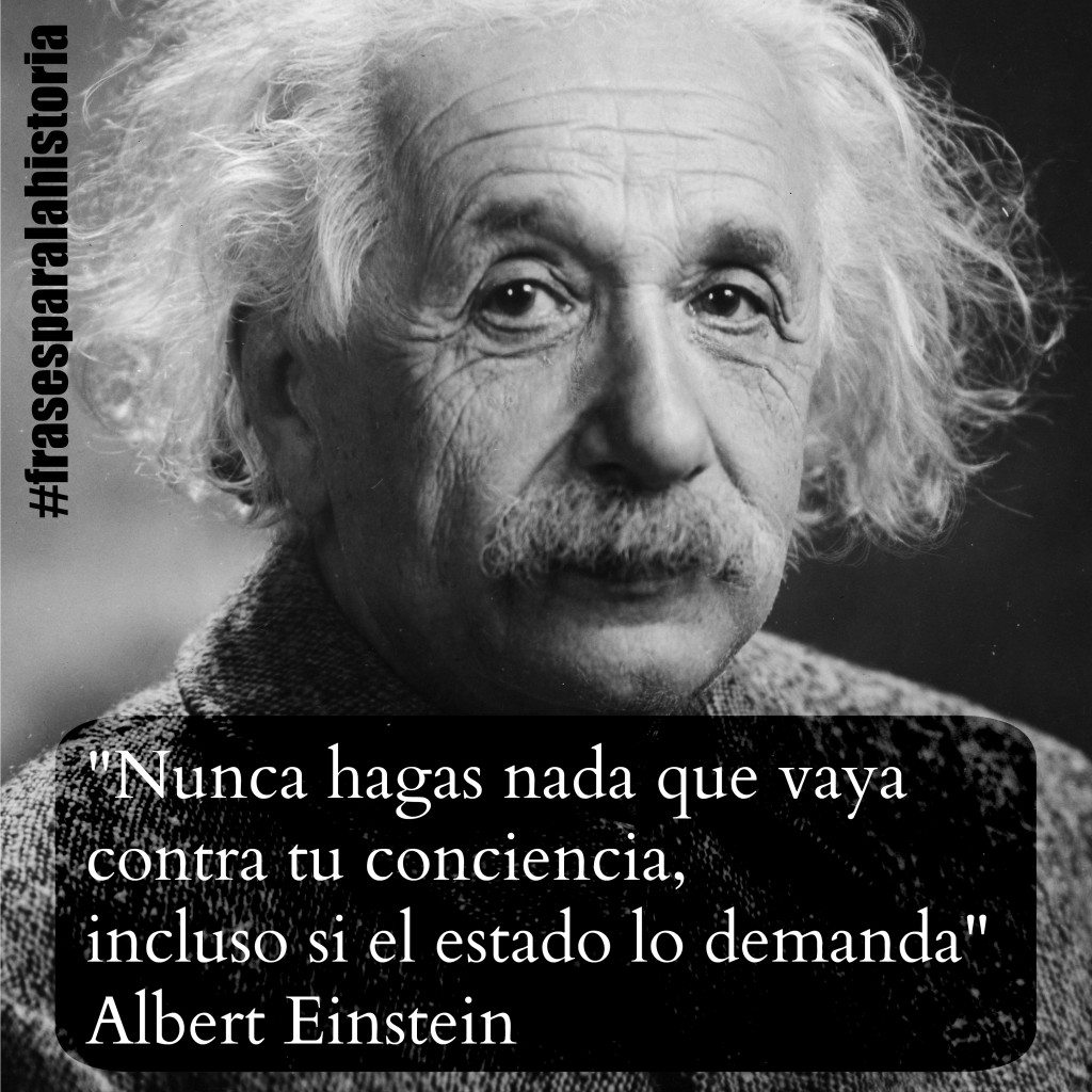 Albert Einstein sobre el Estado